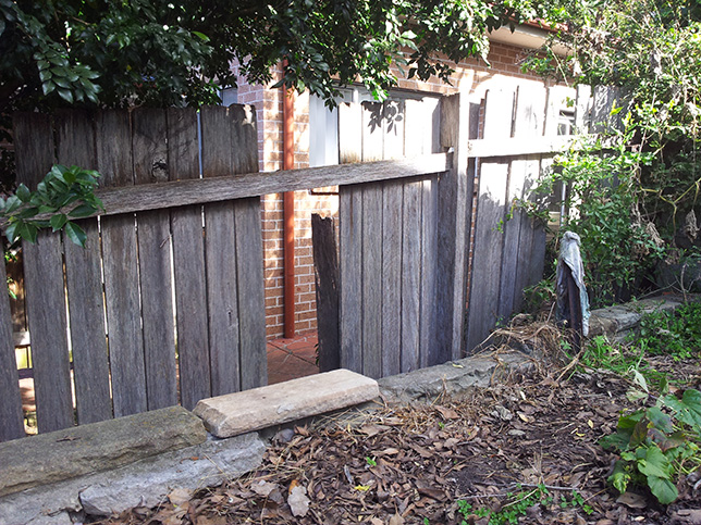 Fence/Gate Repairs Lower North Shore, Northern Beaches Sydney.